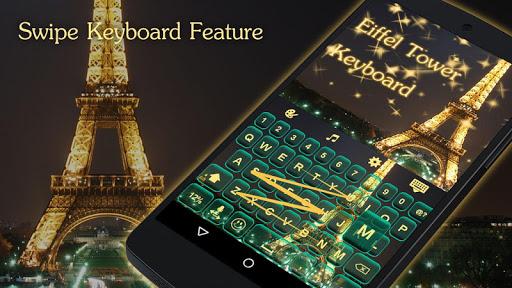Eiffel Tower Keyboard Theme