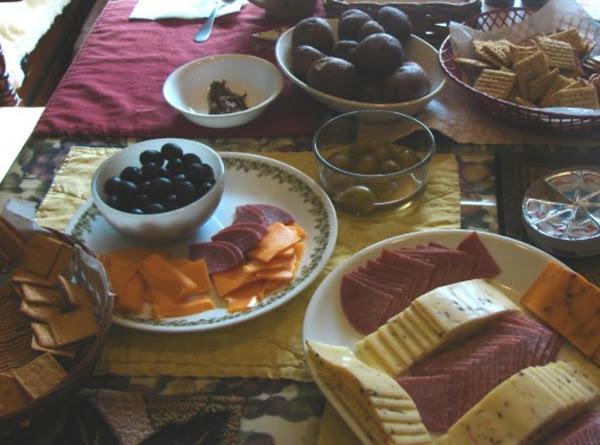 Our Pre Thanksgiving Spread Recipe