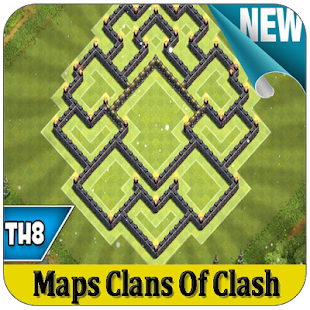 Maps Clash of Clans 2017 TH8 for PC-Windows 7,8,10 and Mac APK 1 0