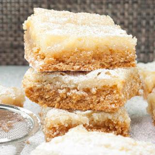 Ooey Gooey Butter Cake Bars.