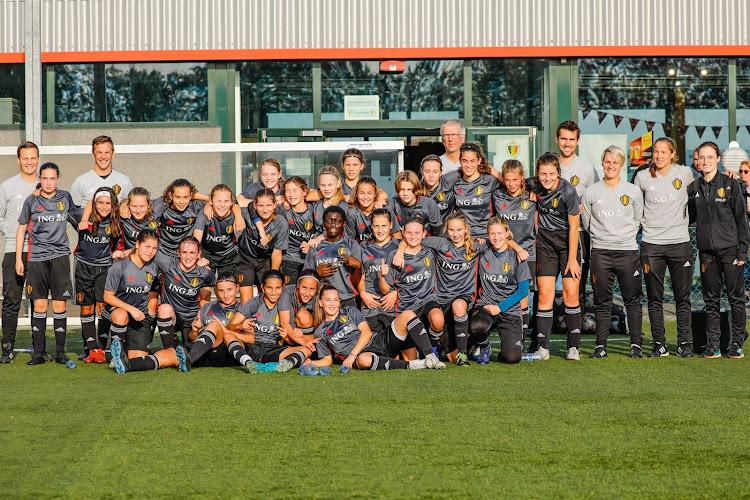 De toekomst is aan de jeugd: Red Flames U15 trainden deze week in Tubeke