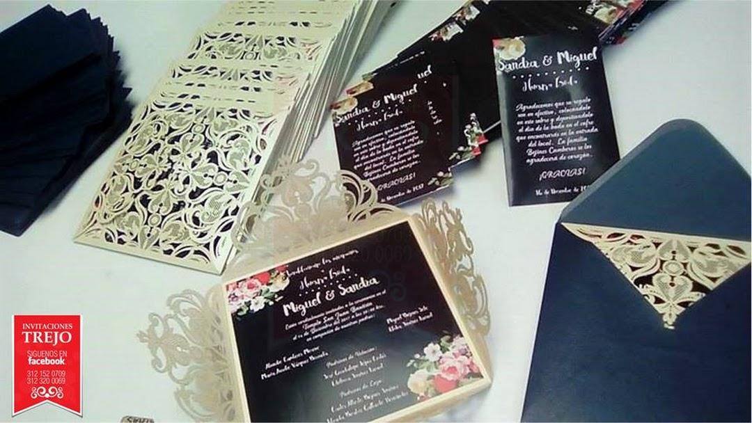 Invitaciones Trejo Diseño Y Creación De Invitaciones E Y