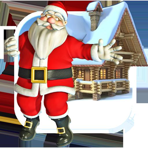 个人化のサンタクリスマスダンスライブWP LOGO-記事Game