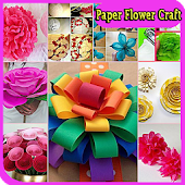 Paper Flower Craft Tutorial