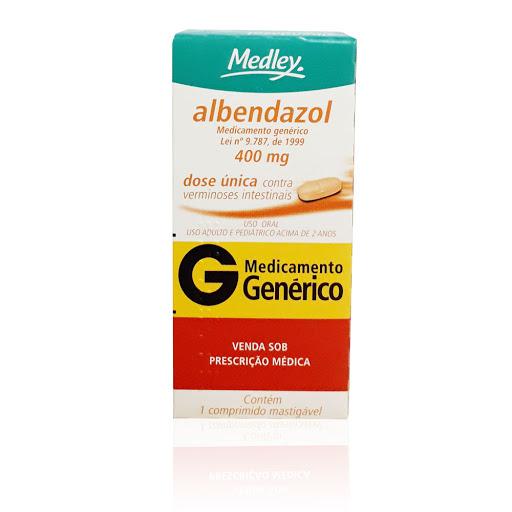 albendazol 400mg 1comprimido medley