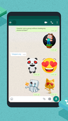New Stickers for chatting 2.2.30 screenshots 4