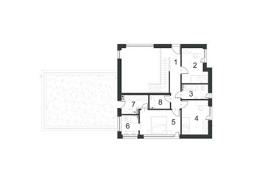 Zdecydowany D21 - Rzut piętra
