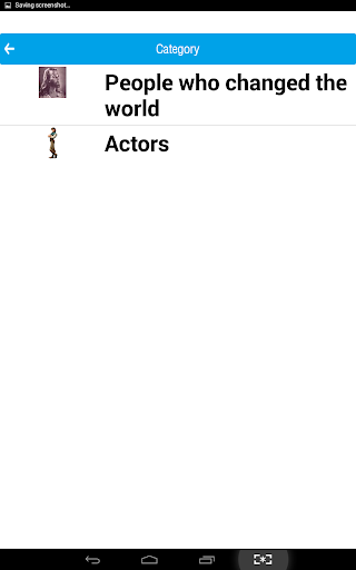 Famous People Quiz 1.0 screenshots 4