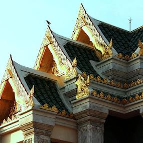 Golden Era by Pom Wanchart - Buildings & Architecture Architectural Detail