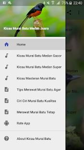 Download Kicau Murai Batu Medan Juara For PC Windows and Mac apk screenshot 1