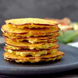 Baked Zucchini Corn Fritters.