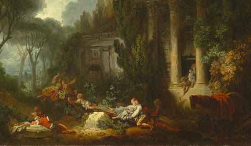 Two Rediscovered Fragonard Paintings Are Acquired by France