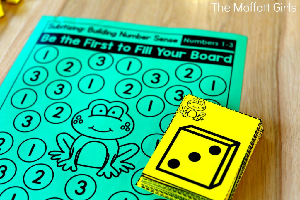 Teach number sense with the Subitizing NO PREP Packets!  And grab this freebie!