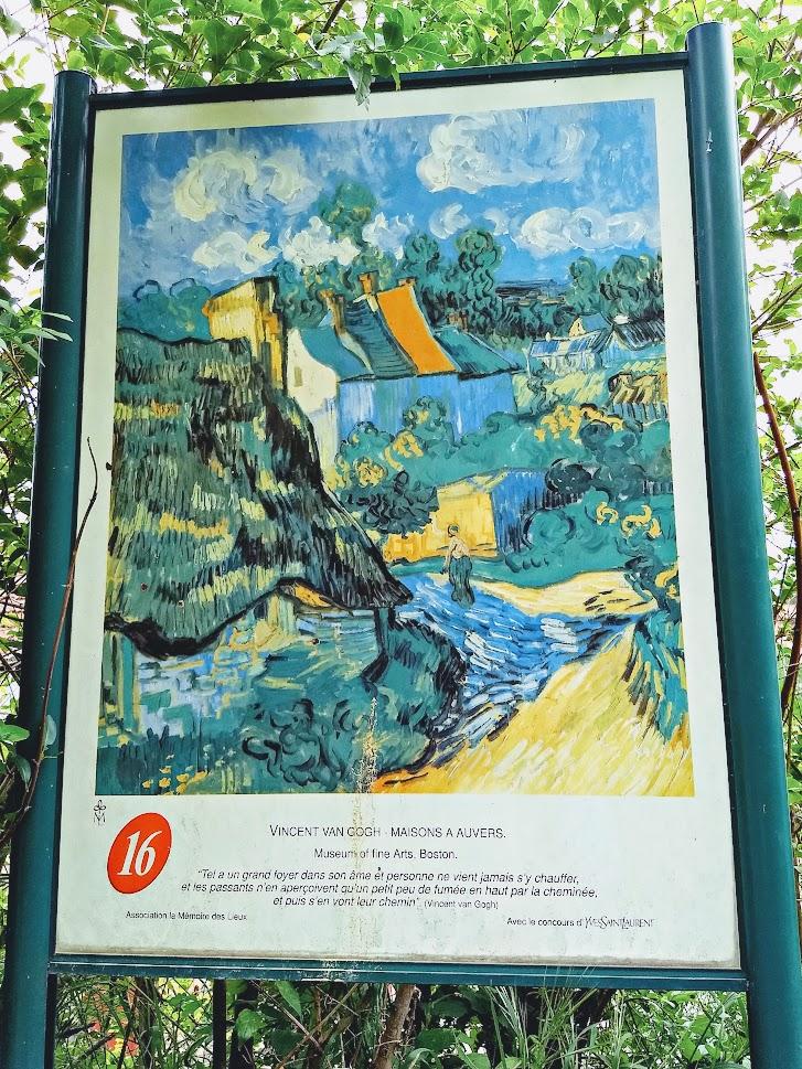Pancarte peinture Van Gogh