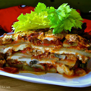 Potato Lasagna with Italian Sausage