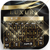 Luxury Gold And Black Keyboard Theme 2018 Android APK Download Free By RIU Design