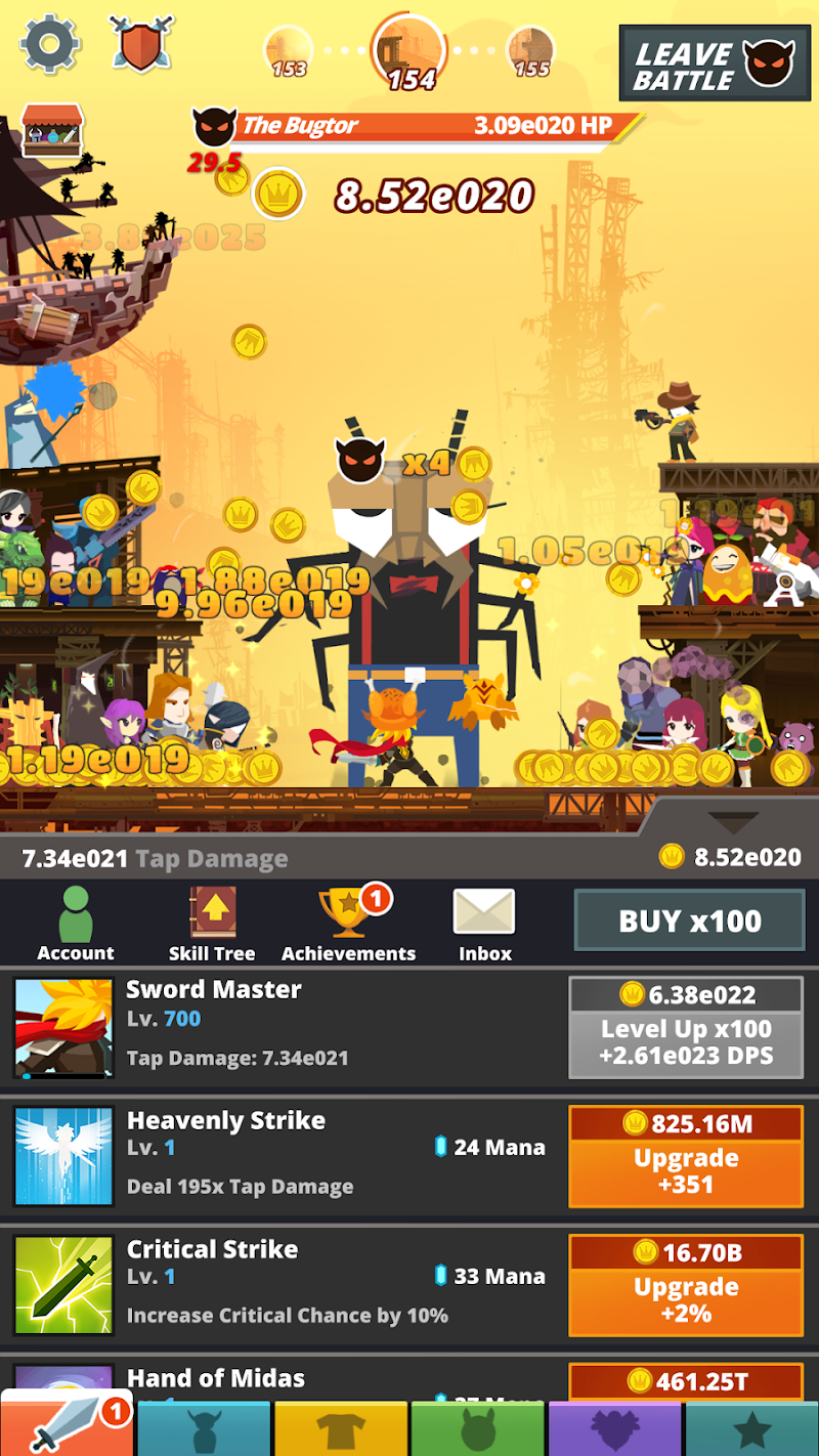 Tap Titans 2 Screenshot 5