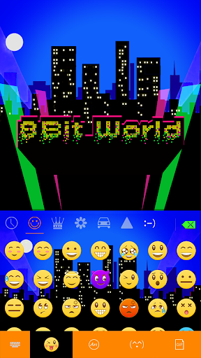 玩免費漫畫APP|下載8-Bit World ????????Keyboard Theme app不用錢|硬是要APP