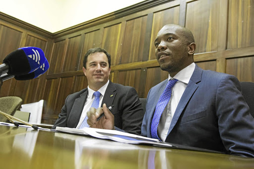 DA leader John Steenhuisen was severely criticised by the party's former leader Mmusi Maimane. File photo.