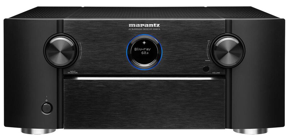 Thiết kế bên ngoài của Amply Marantz SR8015