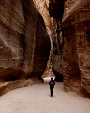 Photo: Serene walking through the Siq