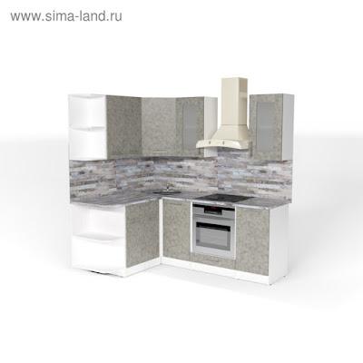 Кухонный гарнитур Валерия прайм 3 1500*2000 мм