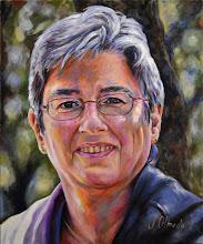 Photo: Pilar, óleo sobre lienzo