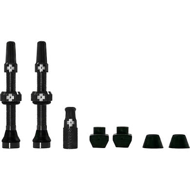Muc-Off Tubeless Valve Kit, fits Road and Mountain, Pair