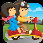 Kids Subway Scooter Racing