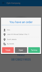 Driver Ojek Kampung screenshot 3