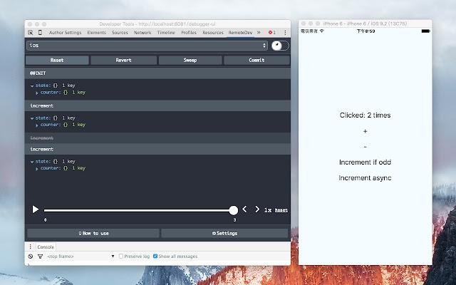 RemoteDev DevTools