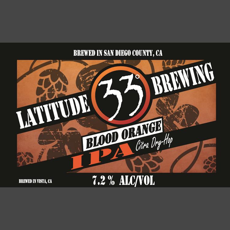 Logo of Latitude 33 Blood Orange IPA