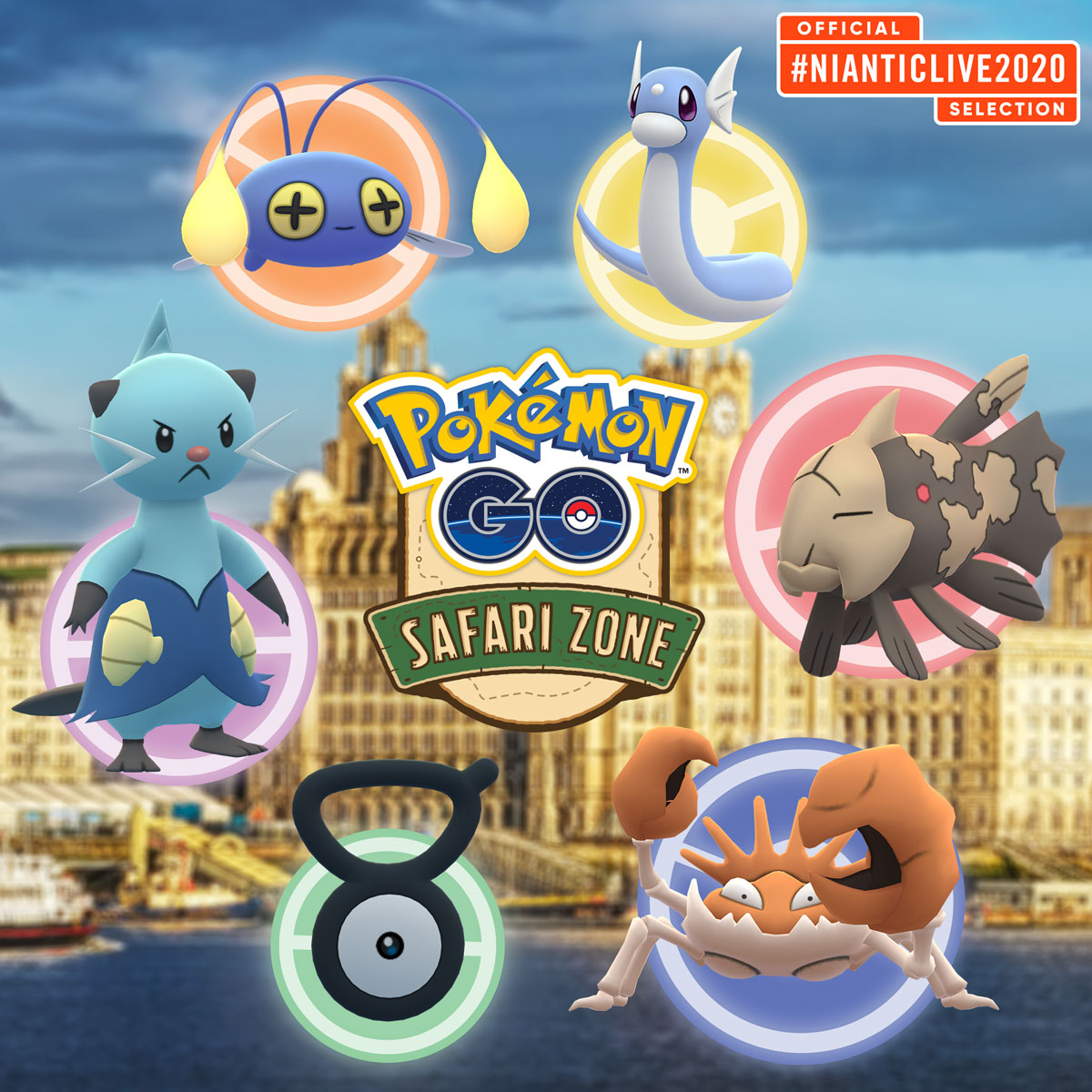Pokemon Go Safari Zone Liverpool Pokemon Go