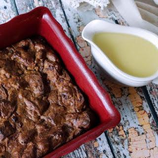 Cranberry Walnut Bread Pudding a La Yum.