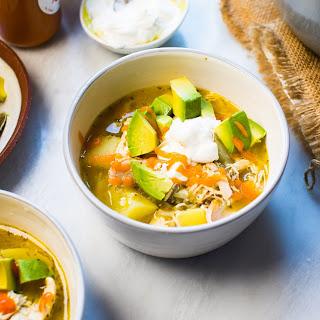 GREEN CHILE CHICKEN SOUP Recipe
