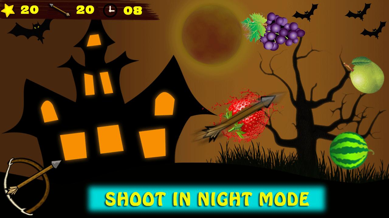 Fruit shooter games - Archery Fruit Shooter Ninja Screenshot