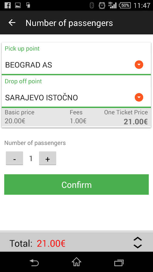 BusTicket4.me - Bus Tickets- screenshot
