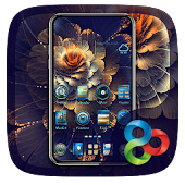 Blue Luxury GO Launcher Theme