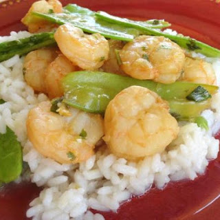 Orange & Lemongrass Shrimp Stir-Fry
