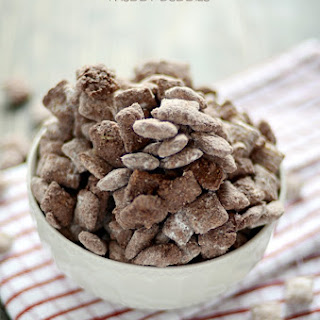 Brownie Batter Muddy Buddies.