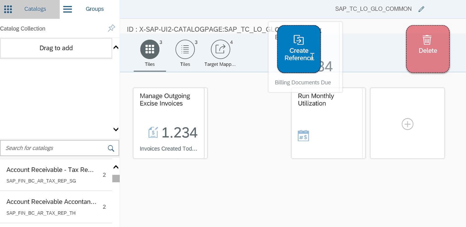 SAP Fiori Launchpad Designer - Create Reference