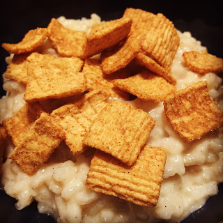 Instant Pot Cinnamon Toast Crunch Rice Pudding.