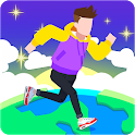 Walk Your Dream - Travel merge class casual game icon
