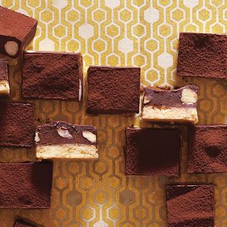 Chocolate-Hazelnut Shortbread Squares
