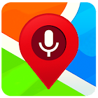 Navigation, cartes et direction avec navigation vo icon