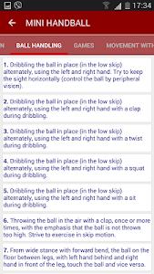 Handball training - HFV screenshot 2