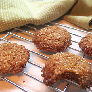 Gluten-Free Vegan ANZAC Biscuits