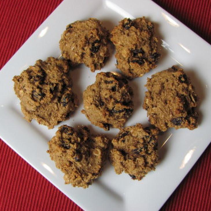 No-Oil Oatmeal Raisin Cookies