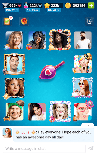 Kiss Kiss: Spin the Bottle for Chatting & Fun 3.5.80009 screenshots 21