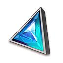 三角無色超越石(中級)